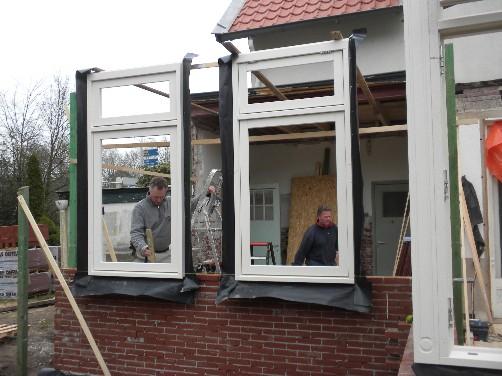 Huis ter heide uitbouw serre en keuken plaatsen dakkapel