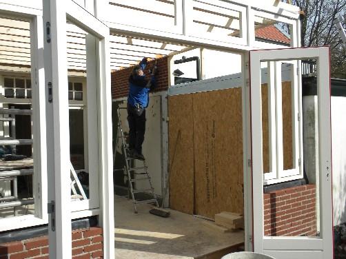 Doors Uitbouw Keuken : Huis ter heide uitbouw serre en keuken plaatsen dakkapel