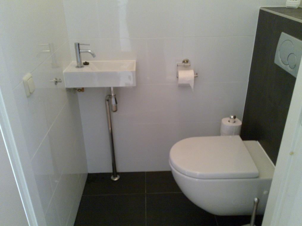 Hangend Toilet Badkamer : Verbouwing van badkamer en toilet bouwbedrijf rene peters